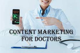 Content Marketing for Doctors blogging