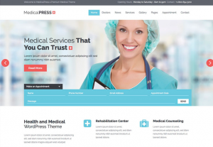 Promote a Doctor Website Design