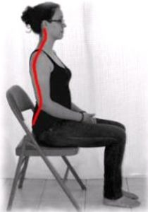 Proper posture when you sit