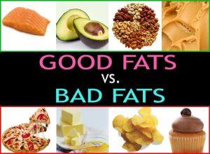 Bad Fats vs Good Fats