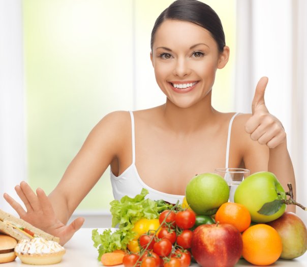 Live a Healthier Life food