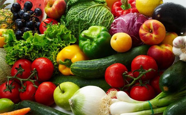 Freshly Grown food