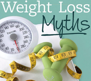 Myths about Losing Weight