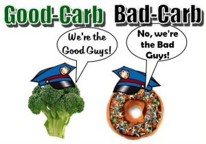 Myths about Losing Weight good carbs bad carbs