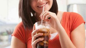 Dental Health for Summer Use a straw