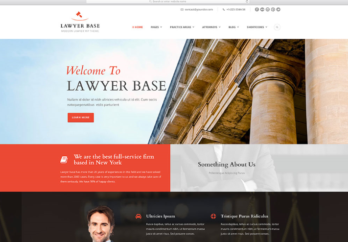 How to Promote a Lawyer website design